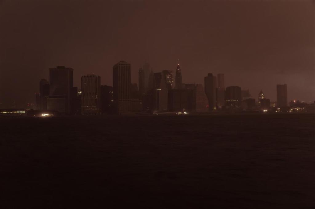 Manhattan in the Dark! Totally exceptional!