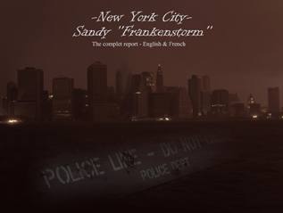 "New York City – Sandy ""Frankenstorm"""