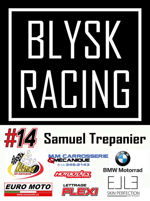 Blysk Racing Team sponsors 2015