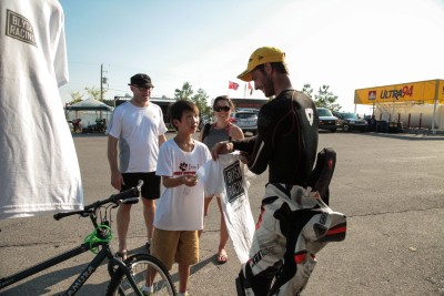 Blysk Racing racer Sharing with the next generation