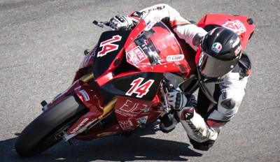 Superbike racer Blysk Racing - Samuel Trepanier