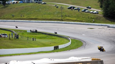 Qualifying session as Samuel Trepanier made 2nd position at Mosport