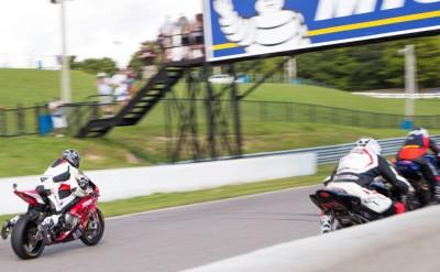 Race start at the CSBK Mosport Rd 6
