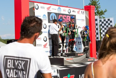 Blysk Racing team at the podium!