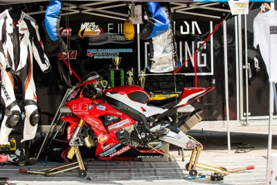 Blysk Racing rig with the BMW S1000RR 2015