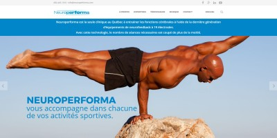 Website cover Neuroperforma